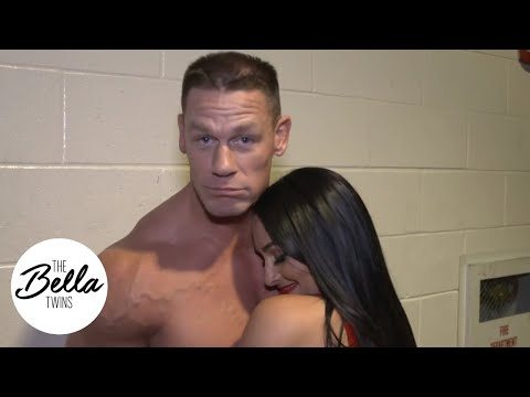 YOU CANT SEE US! John Cena and Nikki team up against Elias and Sonya Deville in the Big Apple!