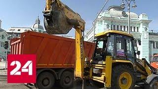 Тверская Застава перекрыта: что строители должны успеть за выходные