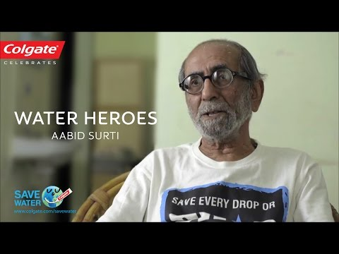 Colgate celebrates Water Heroes of India: Aabid Surti