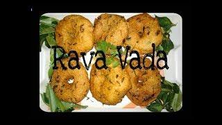 Instant Rava Vada  ||  Sooji Vada