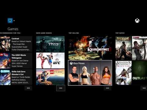 Немного о Xbox One - Обзор магазина (Store) и новых возможностей Snap