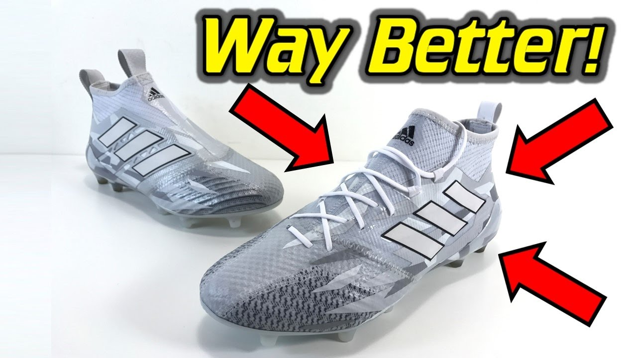 da445b8426db ... new zealand adidas ace 17.1 primeknit grey camo pack one take review on  feet 9d967 8ae57