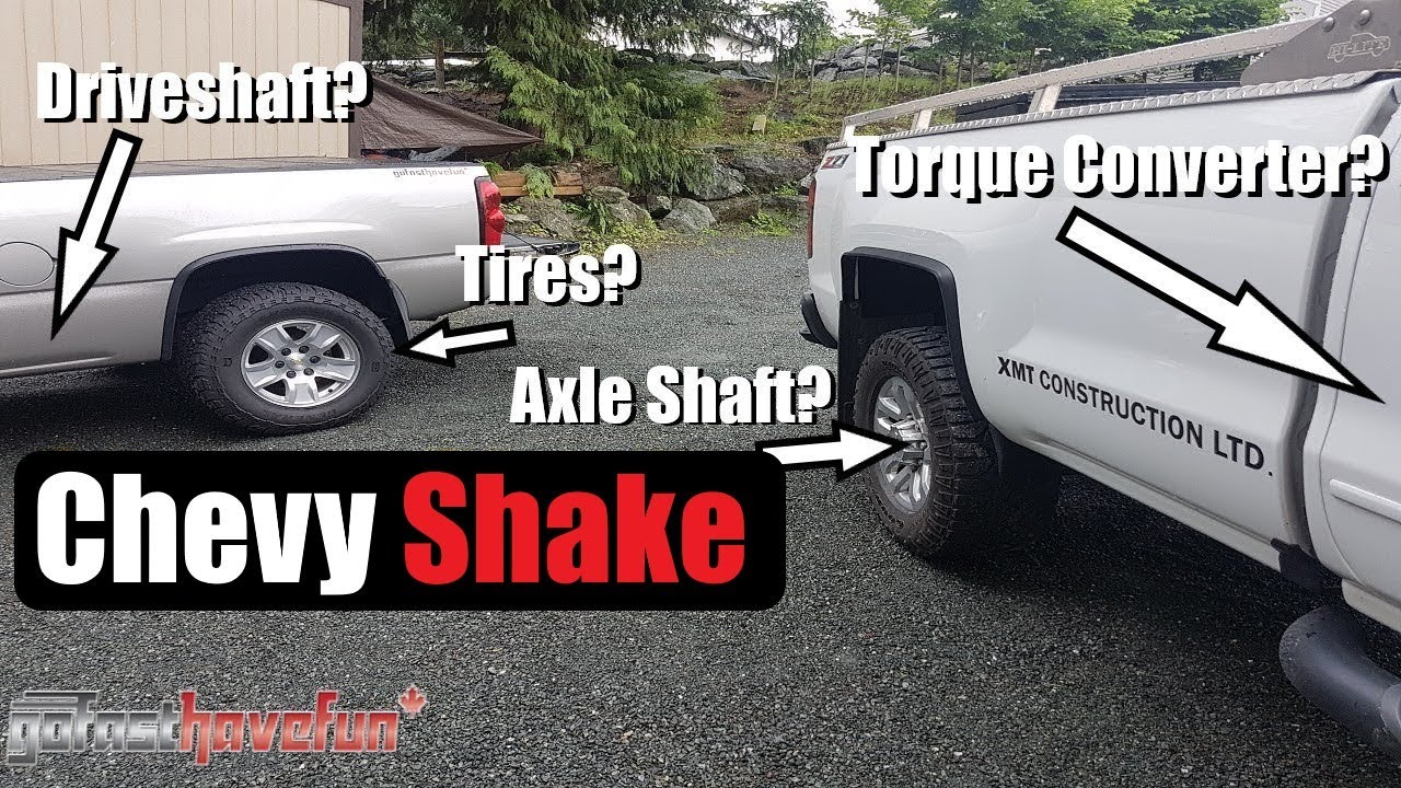 Chevy Shake Possible Solution Anthonyj350 Youtube