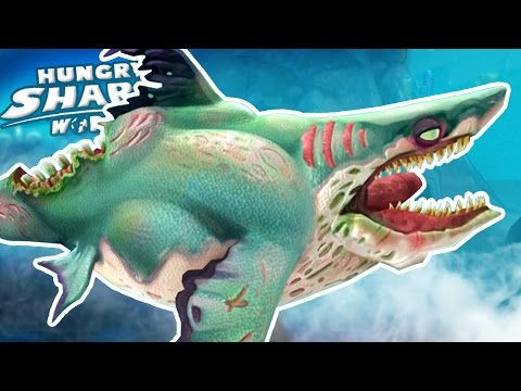 ZOMBIE SHARK!!! - Hungry Shark World | Ep 30 HD