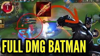 NEW BATMAN ONESHOT BUILD | Top 1 | Conqueror | Arena Of Valor / ROV / Liên Quân / 傳說對決 / 펜타스톰