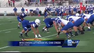 Oak Creek shuts down Wisconsin Lutheran in Operation Football Game of the Week
