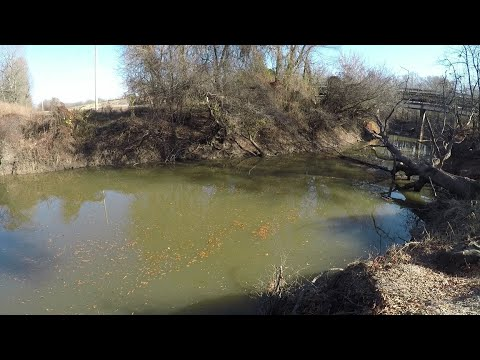 How To Find Catfish Holes On A Small River Or Creek