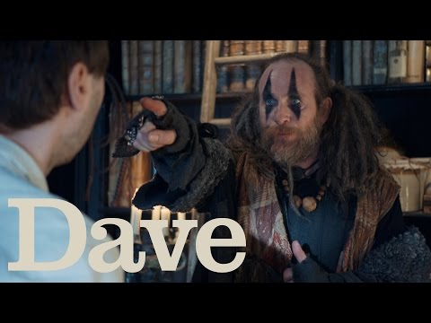 James Buckley, Paul Kaye and Sharon Rooney star in Zapped on Dave