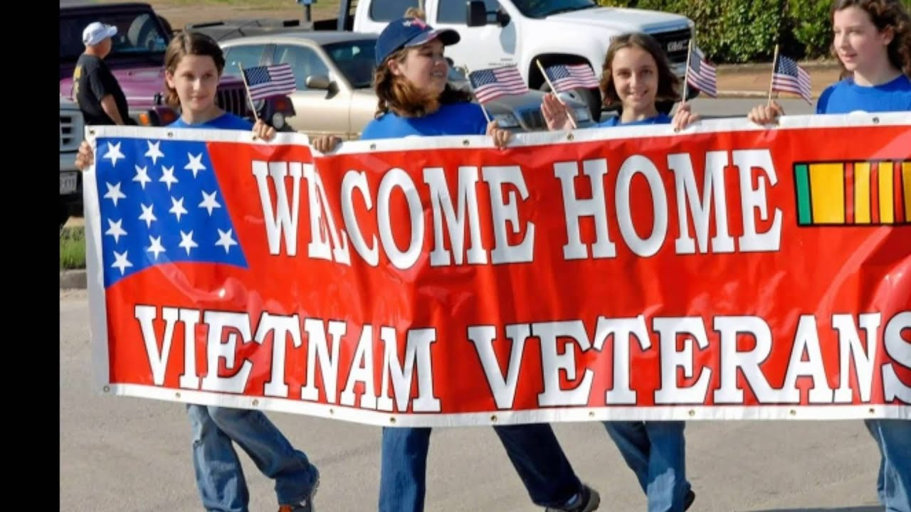 No 'Welcome Home' parades for Vietnam vets.