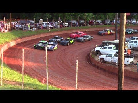 Winder Barrow Speedway Street Stock Feature Race 6/10/17