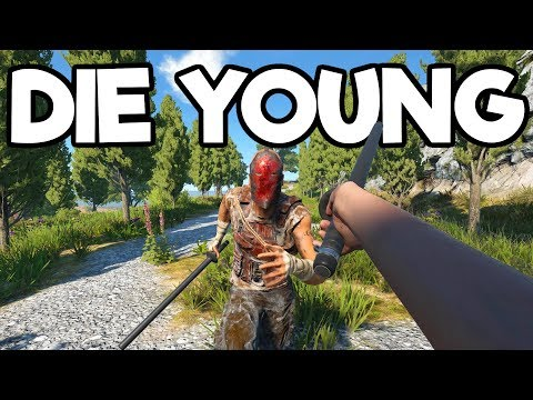 Die Young 2019 - Open World First Person Survival Crafting Dying Lite