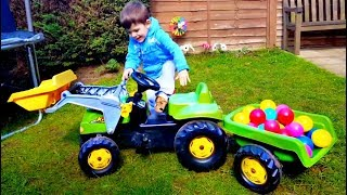 Alex Ride on Truck with Lots of Balls * Fun for Kids