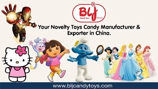 China Candy Toys Licensed Characters Manufacturer | BLJ Candy Toys