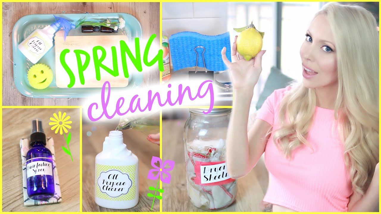 15 awesome cleaning hacks diy natural cleaning products youtube. Black Bedroom Furniture Sets. Home Design Ideas