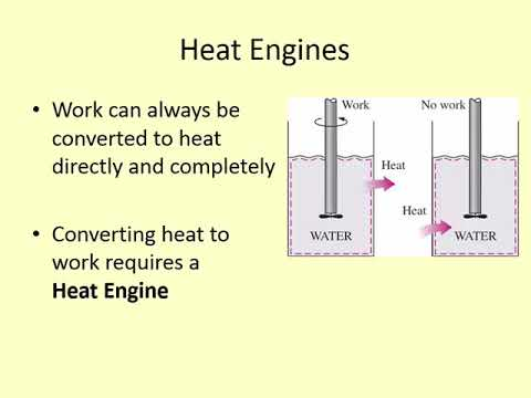 ENGR 219 - Lecture 15 (Thermo I) - Heat Engines and 2nd Law analysis