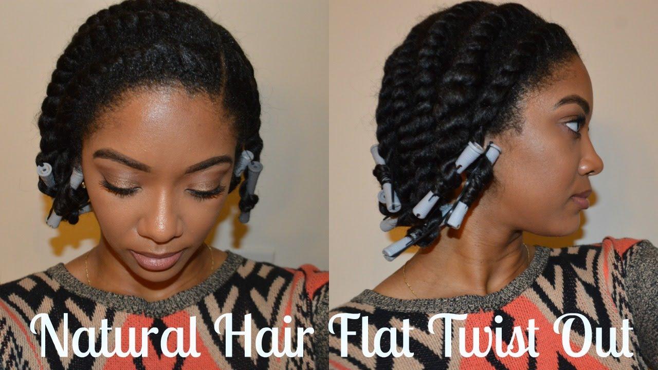 flat twist thick natural