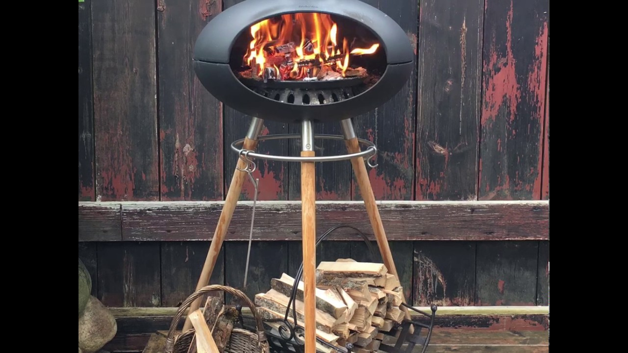 Sensationelle Morsø Forno grill - pizzaovn og havepejs - YouTube ZN28