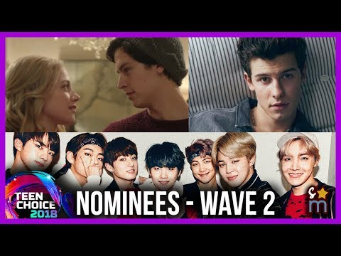 2018 Teen Choice Award Nominees - Bughead, BTS, Malec, Dolan Twins, Etc (Wave 2)