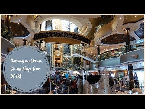 Norwegian Dawn Cruise Ship Tour 2018