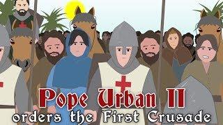 pope-urban-ii-orders-the-first-crusade-1095