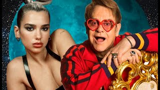 Dua Lipa feat Elton John  -  Love Again at  #EJAFOscars