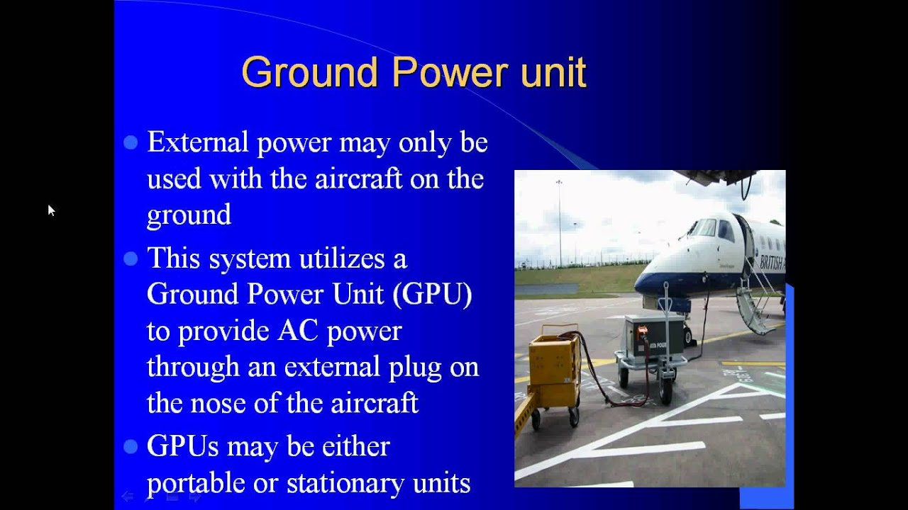 Aircraft Electrical Systems Youtube