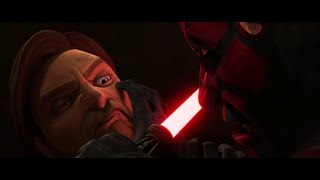 Star Wars: The Clone Wars | All attempts by Darth Maul to kill Obi Wan Kenobi