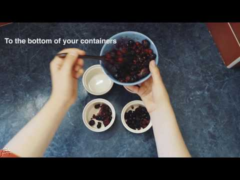 YUMMY RECIPE : HEALTHY CRUMBLE (Vegan approved)