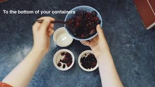 HEALTHY CRUMBLE (VEGAN) ❤️ berries & white chocolate : the Recipe !