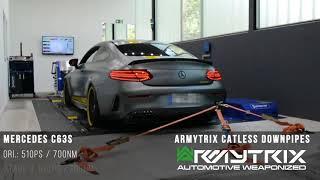Mercedes AMG C63S Coupe | Armytrix Système Echappement VALVETRONIC | moteurs sons & bruit!