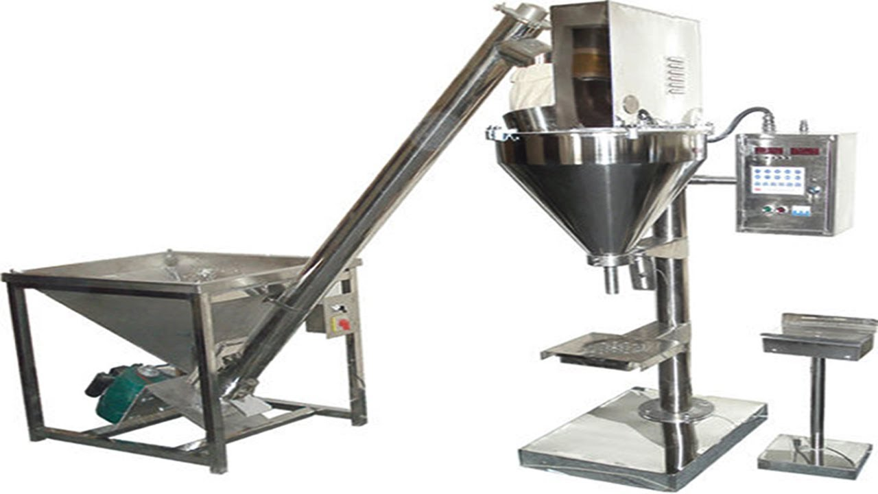 Powder Filling Packing Machine Semi Automatic From A To Z