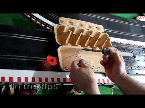 Limpieza, mantenimiento del circuito slot, scx, Ninco, sub. english
