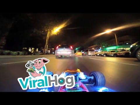 Mike Dellinger - Ever Wanted to Drive Your RC Car in Traffic at Night?