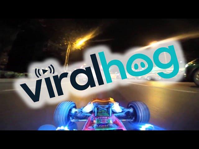 RC Araba ile Gece Gerçek Trafiğe Çıkmak