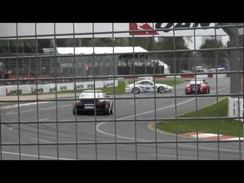 2011 Australian Porsche Carrera Cup - Melbourne - Turn 14 Spin & Close Call