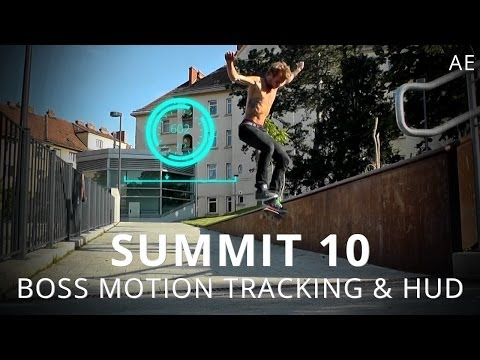 Summit 10 - Boss Motion Tracking & HUD - After Effects