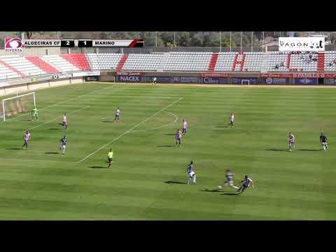 El Algeciras CF, colíder gracias al triunfo en casa contra el Marino de Canarias