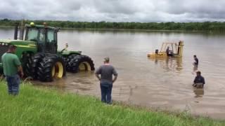 2016 Brazos Flooding - Farm Equipment Rescue