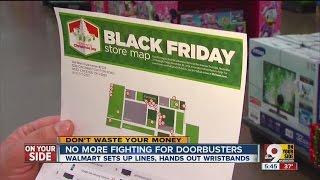 No more Black Friday fights at Walmart