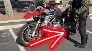 How To Get A Motorcycle On & Off The Center Stand ~ MotoJitsu