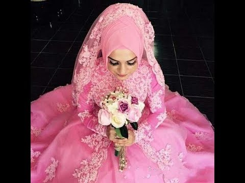 Awesome Arabic Bridal Wedding Gown 2018