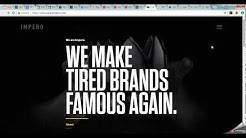 Examples of Web Design Trends 2017-2018