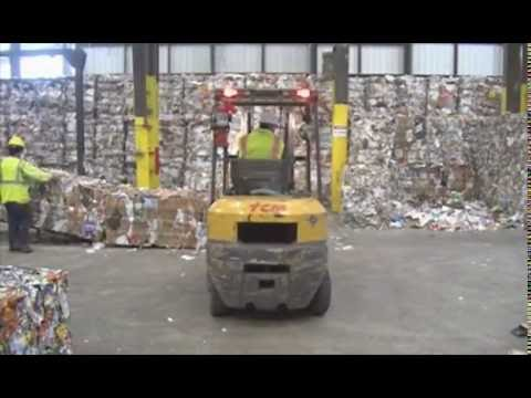 Recycling: Materials Recovery Facility (MRF)