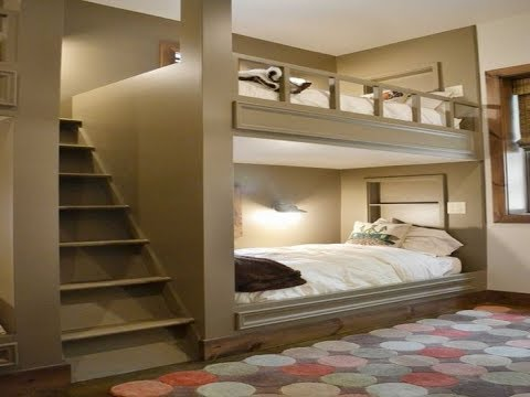 Low Bunk Bed With Stairs Youtube