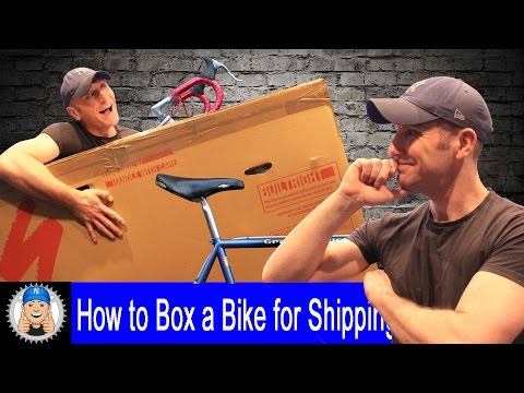 How to Box a Bike for Shipping
