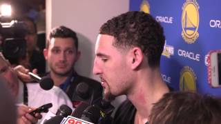 Klay Thompson explains not congratulating Cavaliers immediately following NBA Finals Game 7