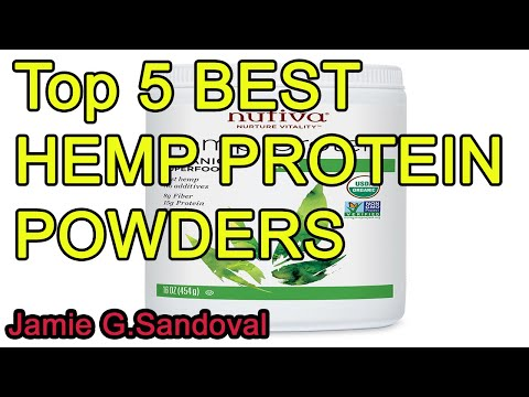 Top 5 BEST HEMP PROTEIN POWDERS 2020
