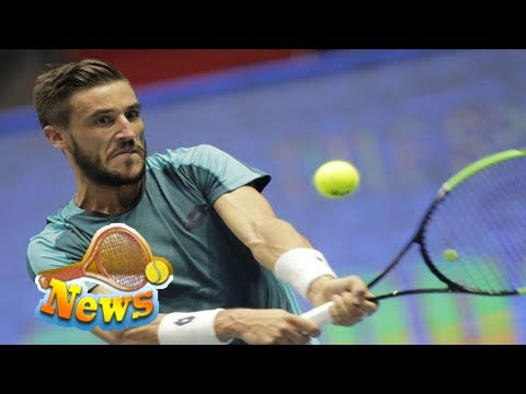 Dzumhur wins 1st atp title for bosnia and herzegovina at st. petersburg