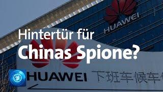 Sorge vor Beteiligung von Huawei am 5G-Netzausbau
