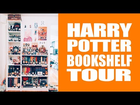Bookshelf Tour - Harry Potter